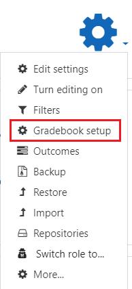 Gradebook setup